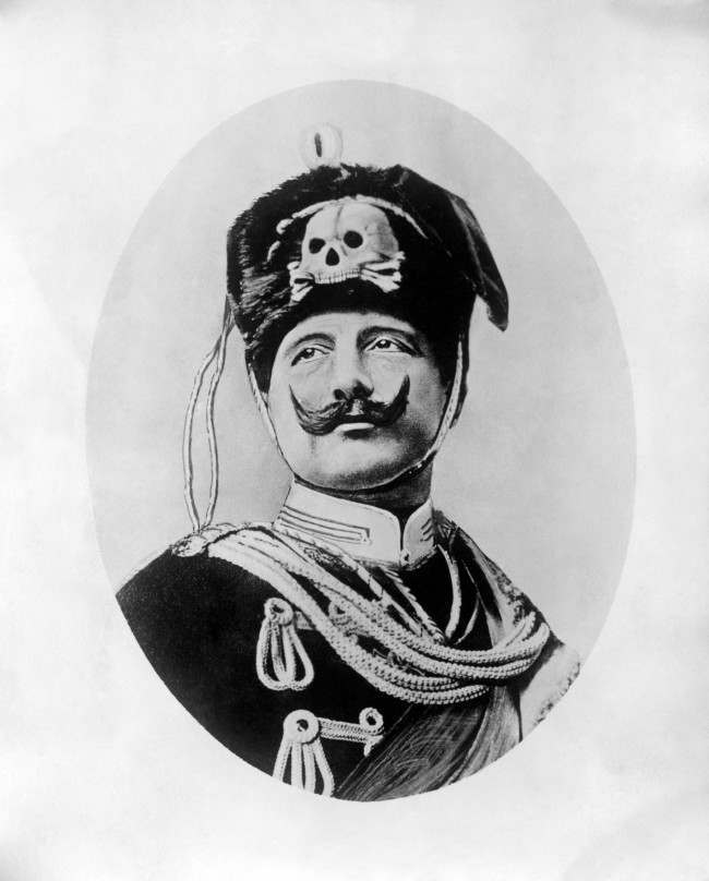 Kaiser Wilhelm II as the 'new King of the Belgians'.