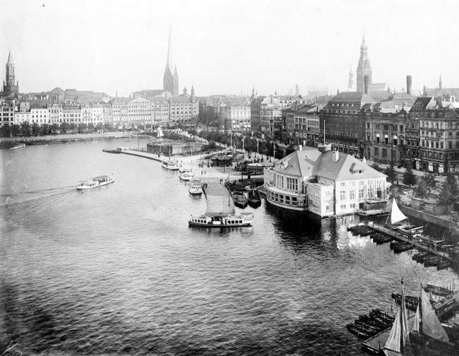 A general view of Hamburg, Germany.