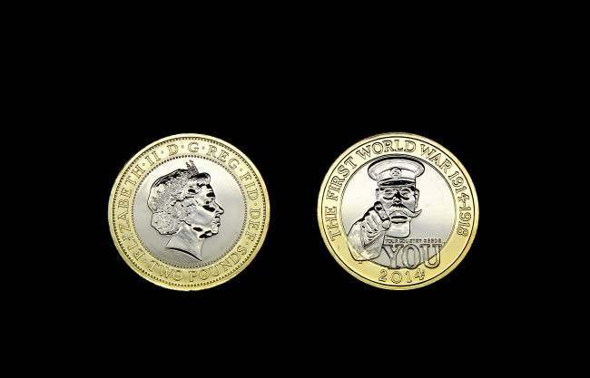 A new £2 coin featuring Lord Kitchener