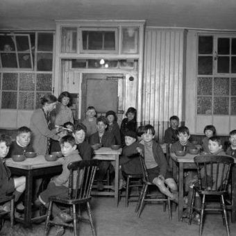 Flashback: Feeding Soup To The Orphans In Canning Town Soup 1931