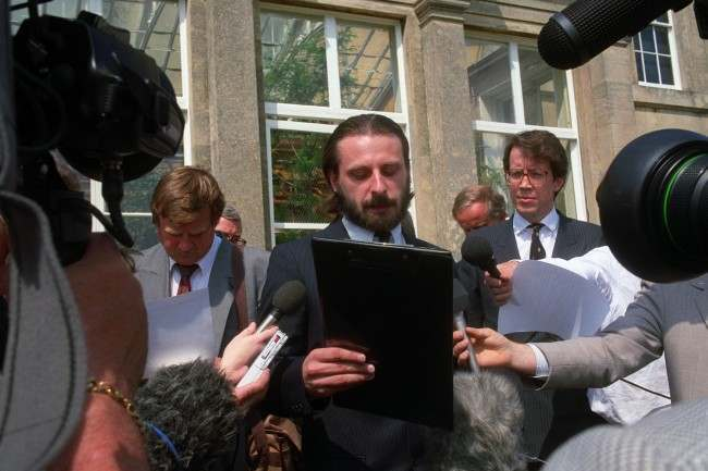 SURVIVOR DONAT DESMOND TALKS TO THE MEDIA Date: 18/05/1990