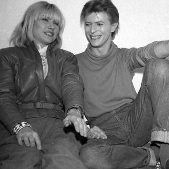 The Elephant Man: Blondie And David Bowie At New York's Booth Theater In 1980