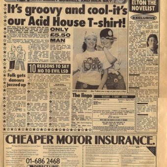 When Acid House Freaked Out Fleet Street: Tabloid Horror Stories From The 1980s
