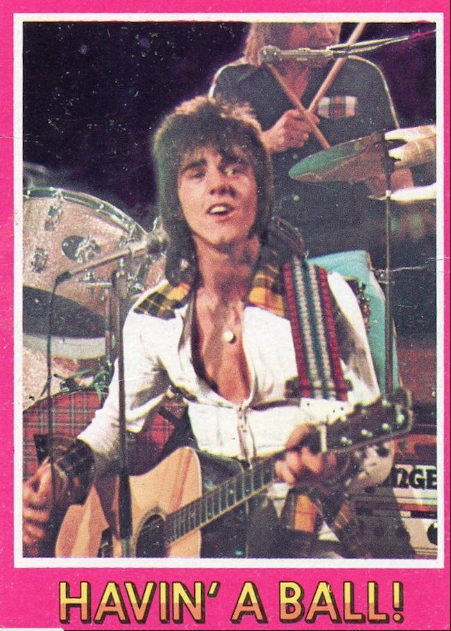 bay city rollers cards 10