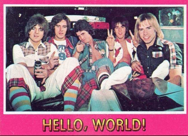 bay city rollers cards 12