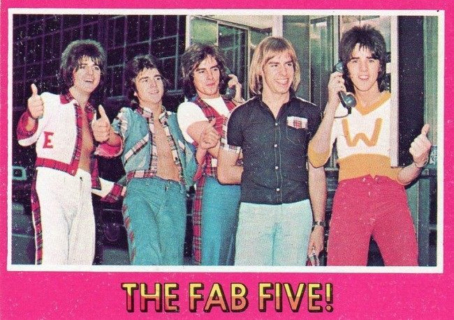 bay city rollers cards 13