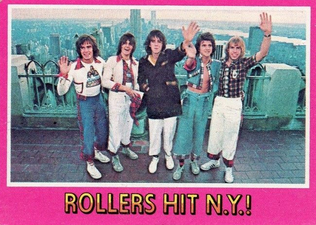 bay city rollers cards 16