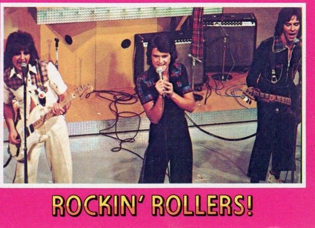 bay city rollers cards 21