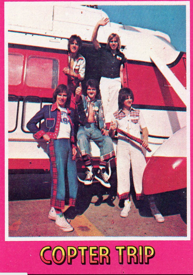 bay city rollers cards 6