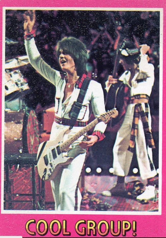 bay city rollers cards 7