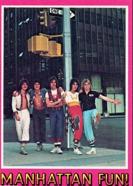 bay city rollers cards 8