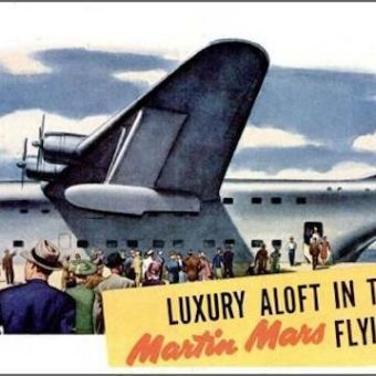 All Aboard The Martin Mars Flying Hotel