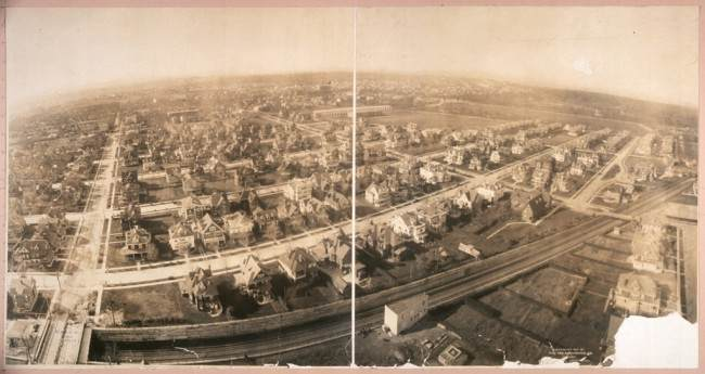 Bird's eye view of Prospect Park, South, Brooklyn, N.Y.