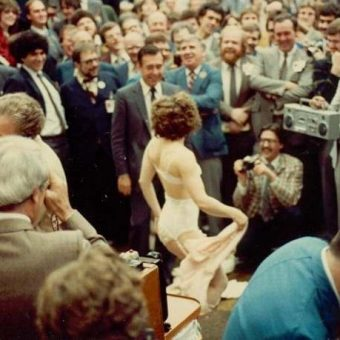 A Stripper Performs For God At The Toronto Stock Exchange