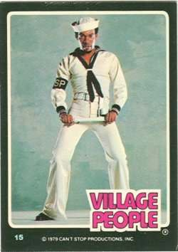 village people trading cards 1
