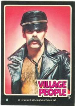 village people trading cards 3