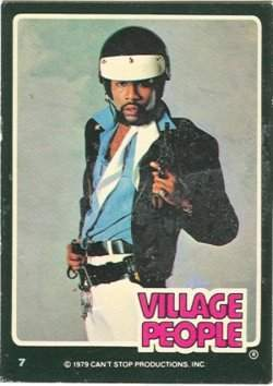 village people trading cards 4
