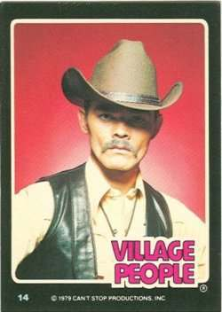 village people trading cards 5