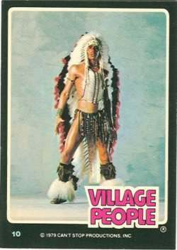 village people trading cards 6