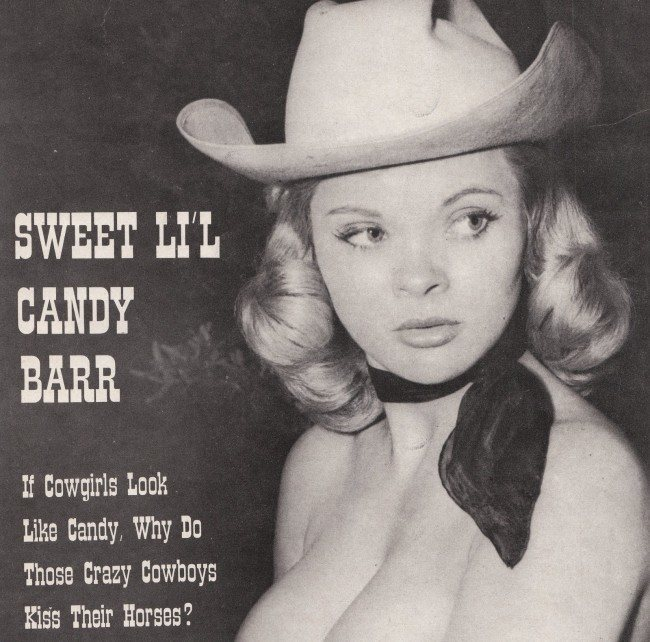 Stripper named candy barr