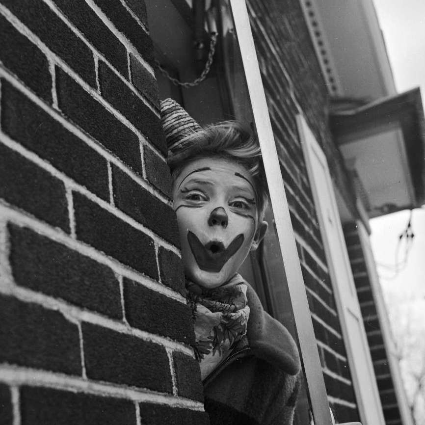 Clowning Around With Christopher Walken And His Brothers In 1955