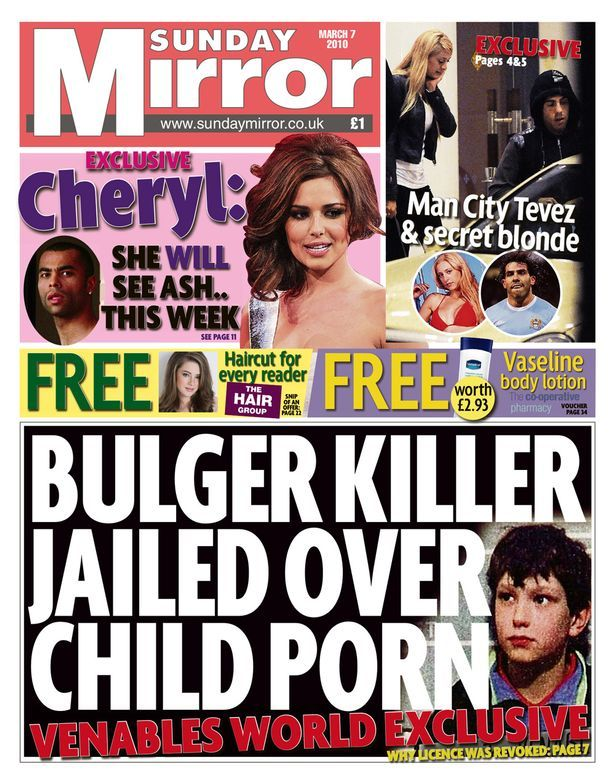 Daily Mirror front page-1679326