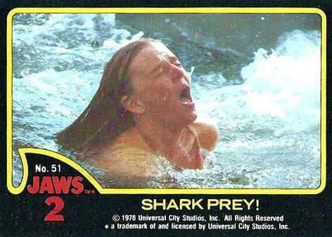 Jaws 2 1978 Topps