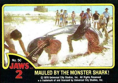 Jaws 2 1978 Toppsv