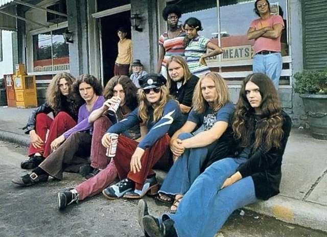 70s rock bands when it was cool to look homeless flashbak