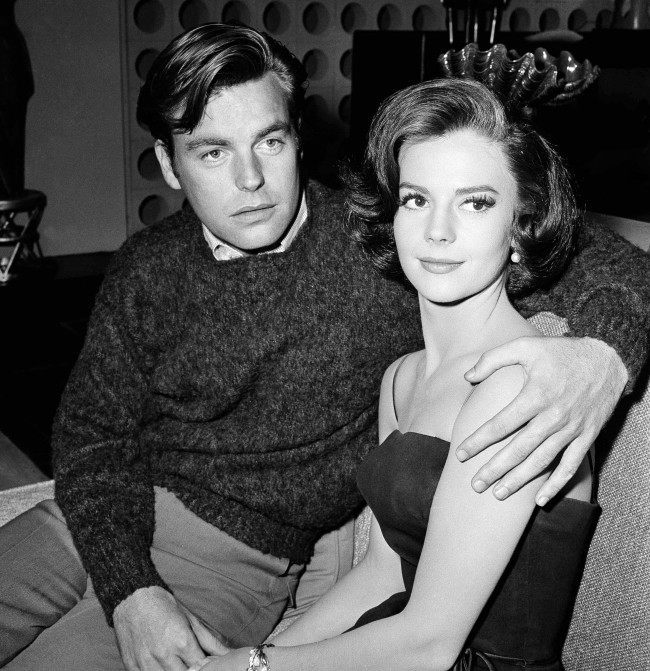 "In a Nov. 25, 1959 file photo, Natalie Wood and her husband Robert Wagner are made up for their roles in ""All The Fine Young Cannibals,"" in Los Angeles. Dennis Davern, captain of the yacht Splendour, which Wood was aboard at the time of her death, said on national TV Friday, Nov. 18, 2011 that he lied to investigators about Natalie Wood's mysterious death 30 years ago and blames the actress' husband at the time, Robert Wagner, for her drowning in the ocean off Southern California."