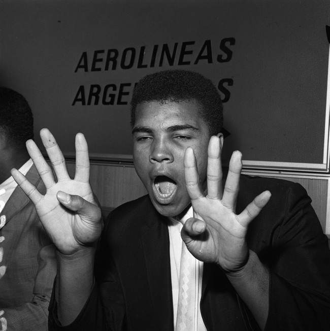 . No amount of ranting and raving from Clay in the pre-fight build-up could convince the experts that the so-called 'Louisville Lip' would be doing much talking in the ring. Of 46 ringside sports writers polled on the night of the fight on February 25 1964, 43 predicted an inside-the-distance win for Liston.