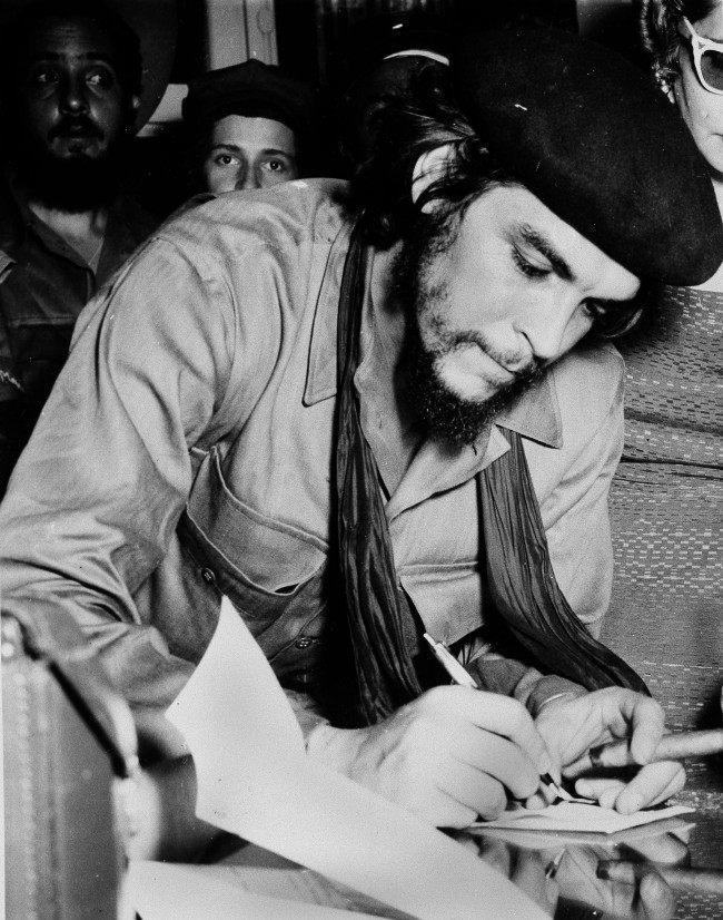 "Ernesto ""Che"" Guevara, Cuban revolutionary Fidel Castro's right hand man, who is an Argentine doctor in charge of La Cabana fortress in Havana, which houses 600 war and political prisoners, is seen Jan. 20, 1959. He promises to be one of the more important persons in the upcoming trials."
