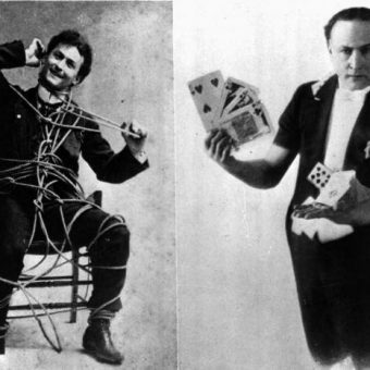 Browse Harry Houdini's Magical Scrapbooks