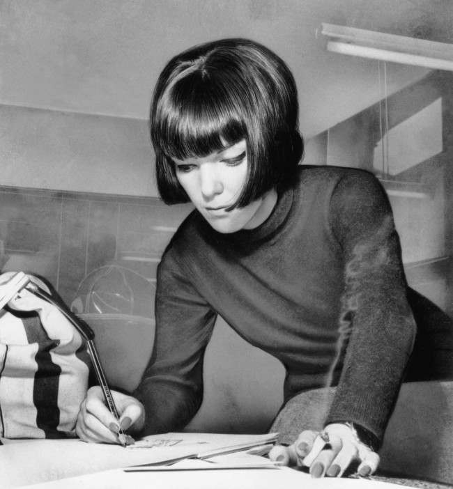 Mary Quant in 1963 /AP/Press Association Images