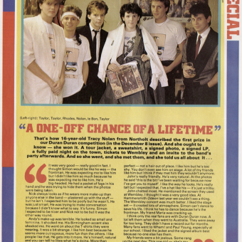 Never Meet Your Heroes: In 1984 A Teenaged Fan Met 'Poofy' Duran Duran And Came Away Unimpressed