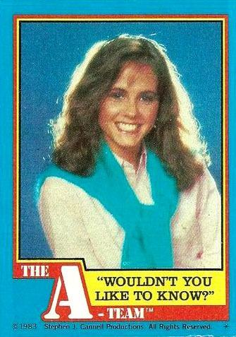 The A-Team 1983 Topps