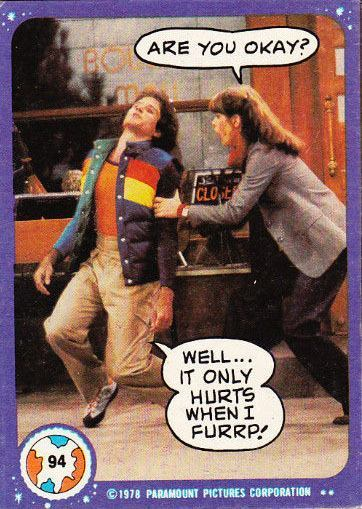 VINTAGE 1978 MORK AND MINDY CARDS