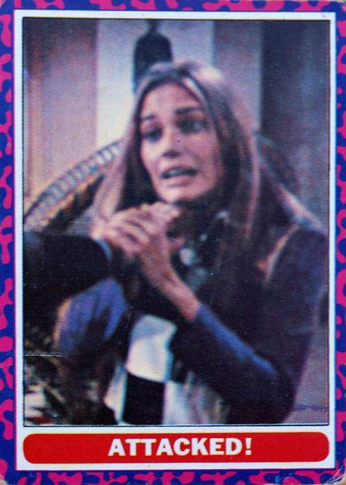 VINTAGE MOD SQUAD TRADING CARD PUZZLE NO.2 1968