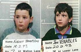 February 20 1993:  John Venables and Robert Thompson Charged With Murder Of James Bulger In Liverpool
