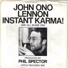 John Lennon Sings Instant Karma! With A Sanitary Towel On Top Of The Pops