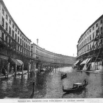 1899: When Flooded London Became Bride di Middlesex, The Cockney Venice Of The North