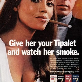 "Sex Sells Tobacco: 10 ""Smoking Hot"" Vintage Adverts"