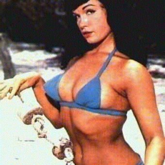 Bettie Page In Colour – Magazine Covers And Retro Raunch From The Queen of Pin Ups