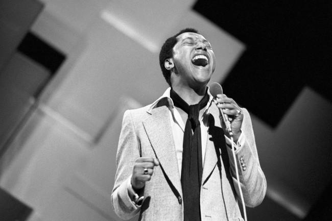 Labi Siffre, performing in the 'Song for Europe' at the Royal Albert Hall