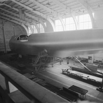 1947 In Photos And Film: The Building And Only Flight Of Howard Hughe's Massive Spruce Goose