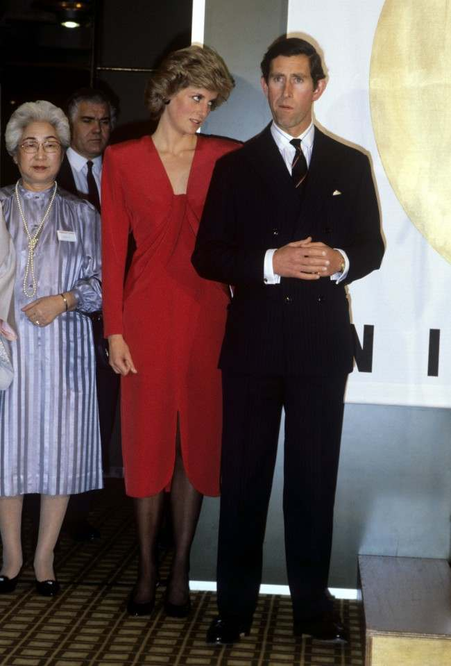 The Prince and Princess of Wales opening Britain's largest festival of contemporary Japanese culture at the Barbican Centre, London. Date: 27/11/1985