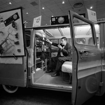 November 30, 1962: The International Communications Fair's Spy Van