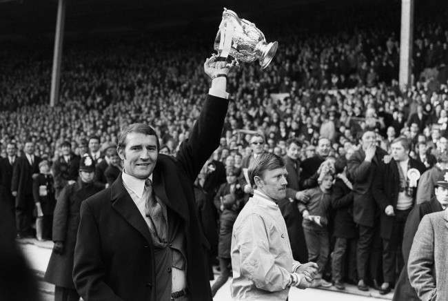 Manchester City coach Malcolm Allison