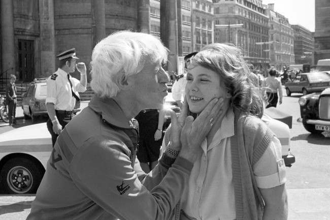 Twelve-year-old Rebecca Heap, who was injured in a serious road accident, gets the chance to meet her favourite BBC Radio 1 DJ Jimmy Savile. Date: 15/05/1980