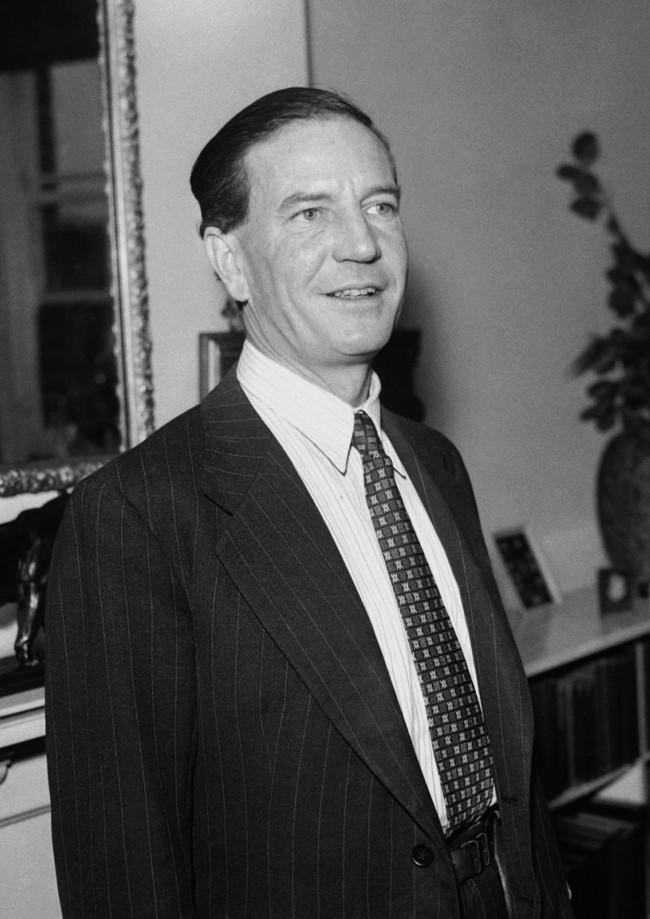 "In 1962, Harold ""Kim"" Philby, one of the Cambridge Ring of Soviet Spies, defects to the USSR."